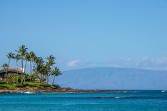 Centro turístico de la bahía de Napili en costa Fotos de archivo libres de regalías