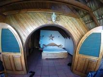 Centro turístico de la habitación imagen de archivo libre de regalías