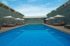 Centro turístico de la piscina del viaje Fotografía de archivo
