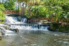 Centro turístico de las aguas termales Foto de archivo libre de regalías
