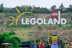 Centro turístico de Legoland, parque y parque del agua, Johor Bahru, Malasia, oct foto de archivo libre de regalías