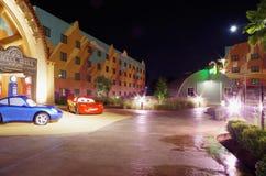 Centro turístico de los coches Fotos de archivo libres de regalías