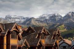 Centro turístico de lujo, Colorado Fotos de archivo