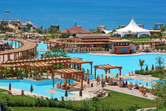 Centro turístico de lujo del verano, Antalya, Turquía Fotos de archivo libres de regalías
