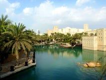 Centro turístico de Madinat Jumeirah Foto de archivo libre de regalías