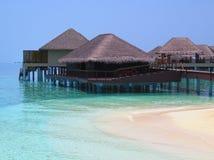 Centro turístico de Maldivas Fotos de archivo libres de regalías