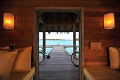 Centro turístico de Maldives Foto de archivo