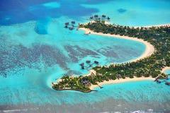 Centro turístico de Maldives imágenes de archivo libres de regalías