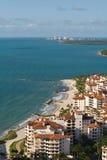 Centro turístico de Miami Beach Fotografía de archivo