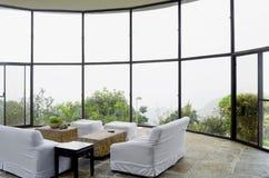 Centro turístico de montaña imágenes de archivo libres de regalías