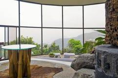 Centro turístico de montaña fotos de archivo libres de regalías