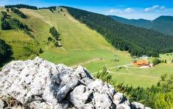 Centro turístico de montaña fotografía de archivo