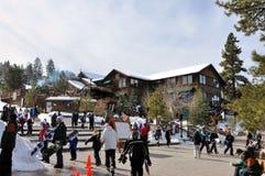 Centro turístico de montaña de Big Bear Imágenes de archivo libres de regalías