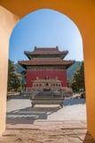Centro turístico de montaña de Chengde en Putuo, provincia de Hebei Fotografía de archivo libre de regalías