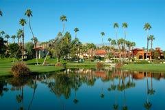 Centro turístico de Palm Spring Imagen de archivo libre de regalías