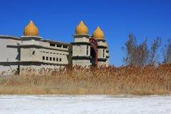 Centro turístico de Saltair en el Great Salt Lake foto de archivo