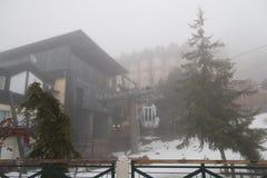 Centro turístico de Sierra Nevada Spain Ski Foto de archivo libre de regalías