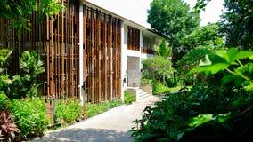 Centro turístico de Tailandia del hotel del edificio en el khaoyai Foto de archivo libre de regalías