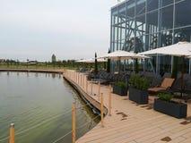 Centro turístico de Therme al aire libre Imagenes de archivo