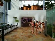 Centro turístico de Therme interior Imagenes de archivo