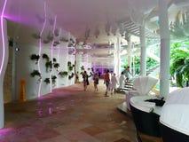 Centro turístico de Therme interior Fotografía de archivo libre de regalías
