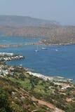 Centro turístico de vacaciones de Crete. fotos de archivo