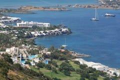 Centro turístico de vacaciones de Crete. Imagen de archivo libre de regalías