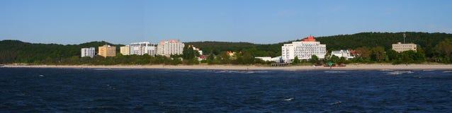 Centro turístico de verano foto de archivo libre de regalías