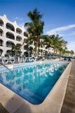 Centro turístico del Caribe Imagen de archivo libre de regalías