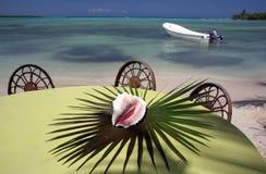 Centro turístico del Caribe que le espera Imágenes de archivo libres de regalías