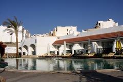 Centro turístico del hotel imagen de archivo libre de regalías