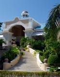 Centro turístico del hotel de lujo en México Imagen de archivo libre de regalías