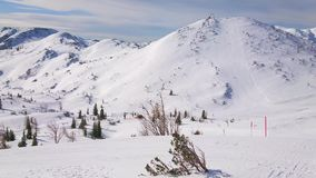 Centro turístico del invierno de Feuerkogel, Ebensee, Salzkammergut, Austria