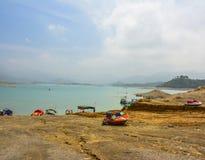 Centro turístico del lago Khanpur, Paquistán Imágenes de archivo libres de regalías