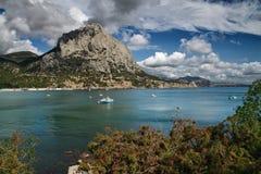Centro turístico del mar Imagen de archivo libre de regalías