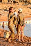 Centro turístico del mar muerto, Jordania Fotos de archivo libres de regalías