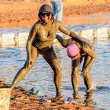Centro turístico del mar muerto, Jordania Fotografía de archivo libre de regalías
