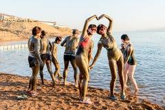 Centro turístico del mar muerto, Jordania Imagen de archivo