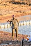 Centro turístico del mar muerto, Jordania Fotos de archivo