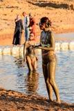 Centro turístico del mar muerto, Jordania Imagen de archivo libre de regalías