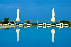 Centro turístico del paraíso Fotos de archivo libres de regalías
