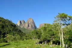 Centro turístico del parque nacional de Tres Picos fotos de archivo