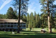 Centro turístico del parque nacional de Yosemite Fotos de archivo libres de regalías