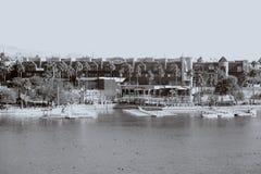 Centro turístico del puente de Londres Fotografía de archivo libre de regalías
