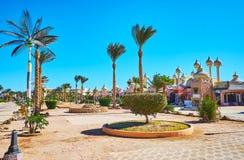 Centro turístico del Sharm el Sheikh, Egipto Foto de archivo
