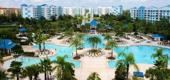 Centro turístico del verde azul, Orlando, la Florida Foto de archivo