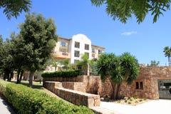 Centro turístico Denia Alicante España Foto de archivo libre de regalías