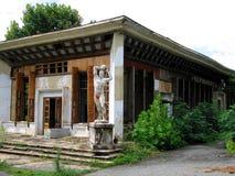 Centro turístico destruido Imagen de archivo libre de regalías