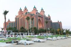 Centro turístico Dubai de la Atlántida Fotografía de archivo libre de regalías