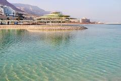 Centro turístico en el mar muerto Foto de archivo